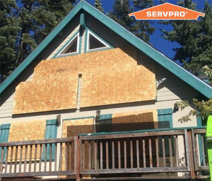 Home Boarded by SERVPRO